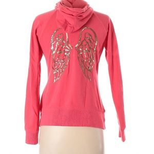 VS Sequin Angel Wing Bling Supermodel Zip Sz XS